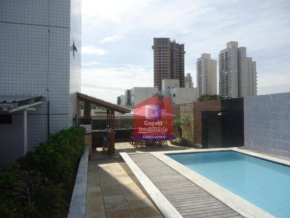 Apartamento Com 2 Dormitórios À Venda, 52 M² Por R$ 280.000 - Tirol - Natal/rn V2066 - Ap0384