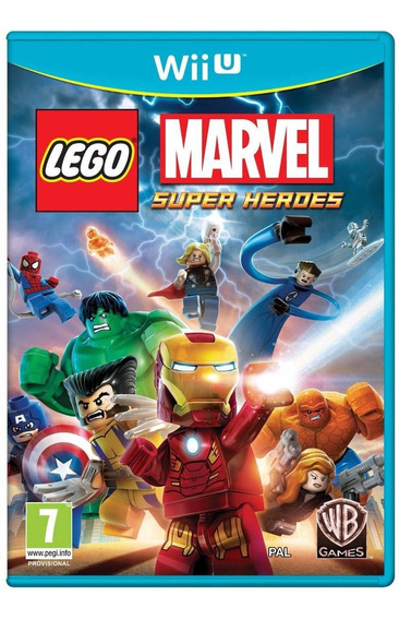 Jogo Mídia Física Lego Marvel Super Heroes Nintendo Wii U