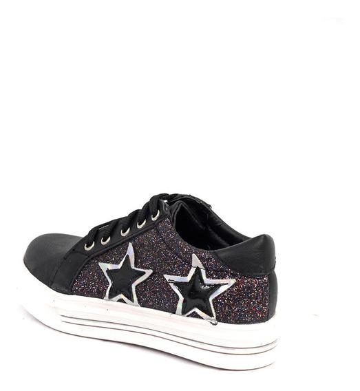 Zapatillas Niños Z Estrella Glitter Cocoa
