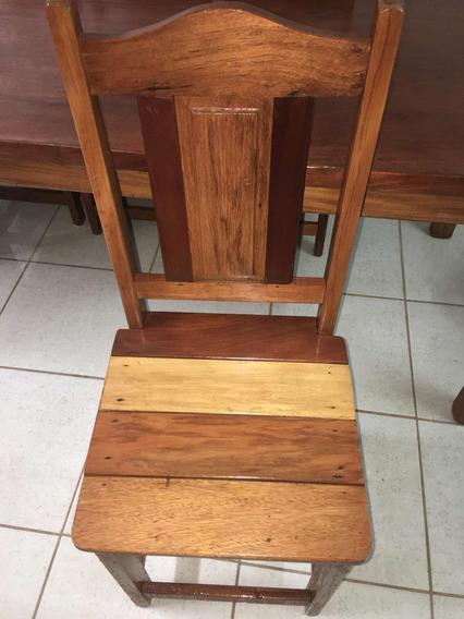 Cadeira Madeira Demolição Apenas 100 Reais