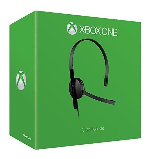 Microsoft Xbox One Headset De Chat Com Fio Xbox