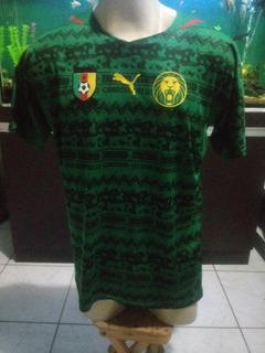 Camisa Puma Camarões
