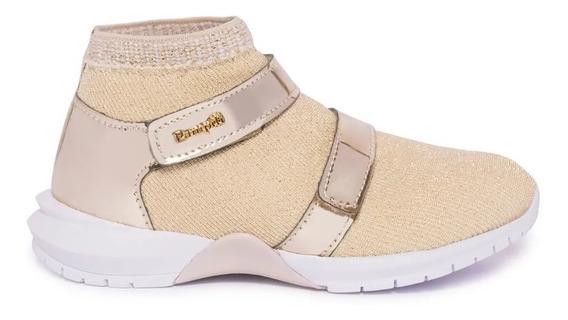 Zapatilla Pampili Nena Nuevo Diseño Con Velcro Tejidas