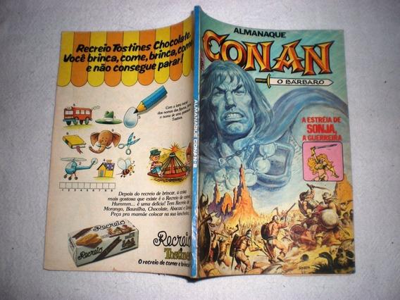 Almanaque Conan O Bárbaro 2 - Abril - Frete Grátis