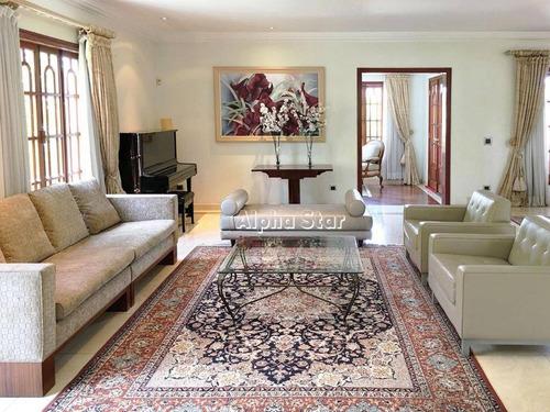 Imagem 1 de 7 de Casa Com 5 Dormitórios À Venda, 665 M² Por R$ 3.200.000,00 - Alphaville 03 - Santana De Parnaíba/sp - Ca1075