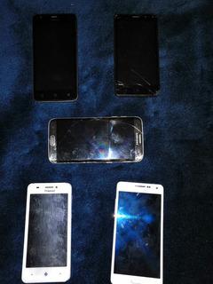 Lote De Smartphone Para Reparar O Refacciones