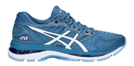 Zapatillas Asics Gel Nimbus 20 Azul Marino Mujer Running