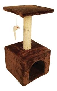 Mueble P/gato C/juguete 60 Cm