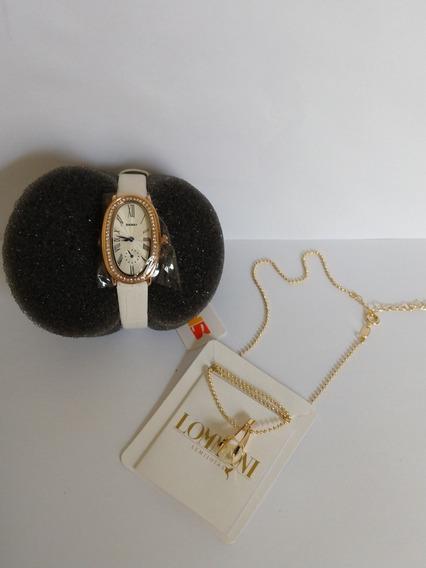 Relógio Feminino Skmei Original Analógico + Corrente Kit