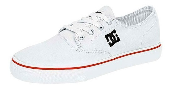 Tenis Dc Shoes Flash 2 Tx Blanco Tallas De #25½ A #29 Hombre
