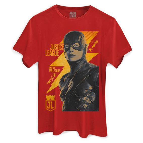 Camiseta Original Flash Liga Da Justiça
