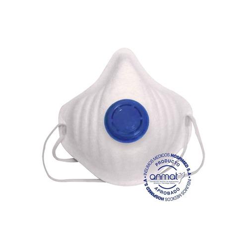 Barbijo N95 Con Valvula Filtro Antibacteriano (3 Unidades)