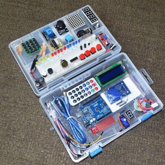 Conjunto Módulo Rfid Kit Para Arduino Uno R3 Atualizado