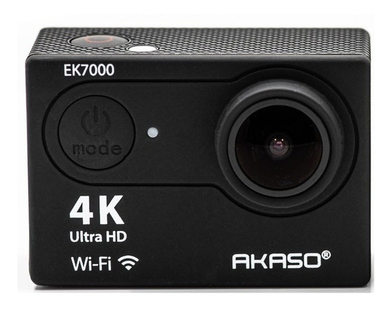 Câmera De Ação Akaso Ek7000 4k Wifi Com Controle Na Caixa