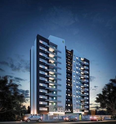 Apartamento Com 2 Dormitórios À Venda, 46 M² Por R$ 185.000,00 - Planalto - Caxias Do Sul/rs - Ap0298