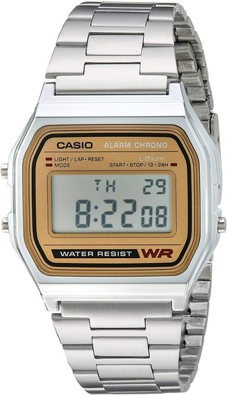 Casio A158wa-1r Reloj Digital Acero