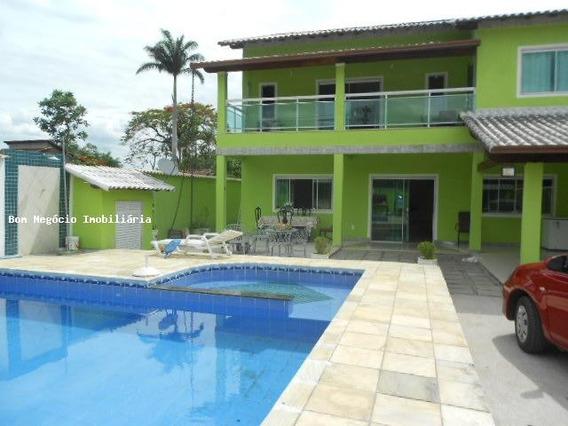 Casa Para Venda Em Guapimirim, Vale Do Jequitibá, 3 Dormitórios, 1 Suíte, 3 Banheiros, 2 Vagas - 215