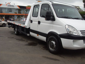 Iveco Daily 35 35s 14 Cabine Dupla Guincho 2012 Branca