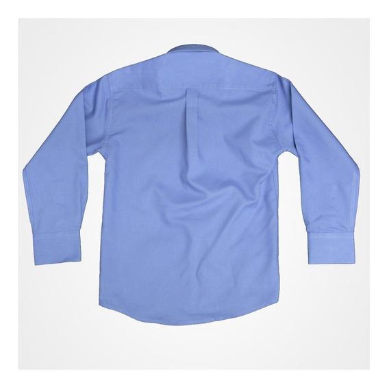 Camisa Manga Larga Marca Oscar Varios Colores Niño #1 A 3x