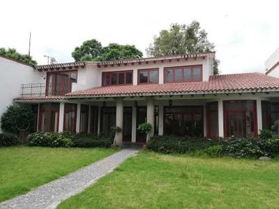 Rento Hermosa Residencia En Tlalpan Centro