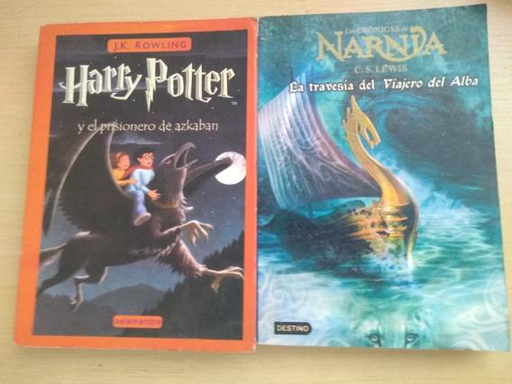Livros Em Espanhol. Harry Potter E Narnia