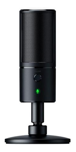 Imagen 1 de 3 de Micrófono Razer Seiren X condensador supercardioide classic black