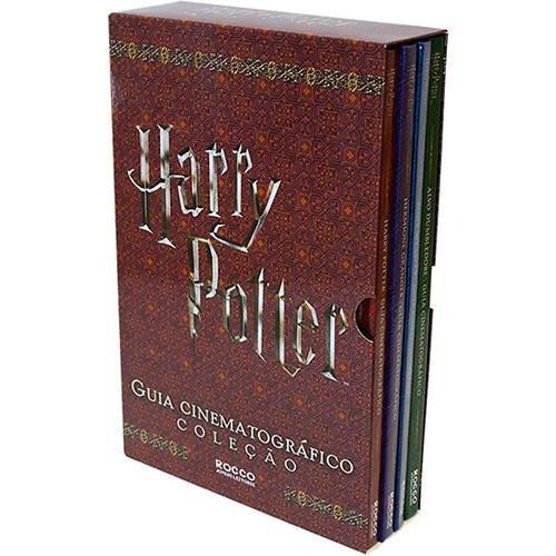 Box Harry Potter Guia Cinematográfico Capa Dura (4 Livros)