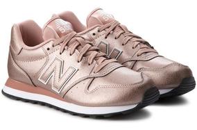 Tenis Feminino New Balance Couro Original Rosa Gw500mtb