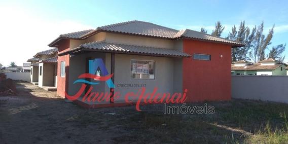 Linda Casa Em Unamar, Próximo A Praia, Com Financiamento Bancário - Fac 212 - 34134548