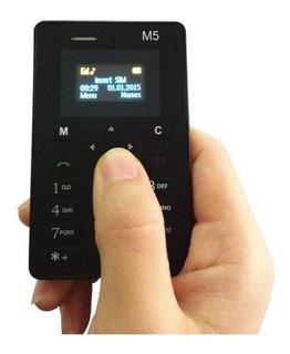 Teléfono Móvil Mini-m5 Para Niños Pequeño Negro Celular