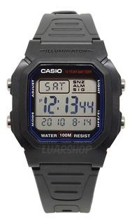 Relogio Casio Digital Masculino W800h Original C/ Caixa Nf