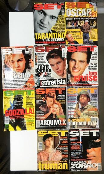 Revista Set Ano 1998 (10 Edições) Em Perfeito Estado