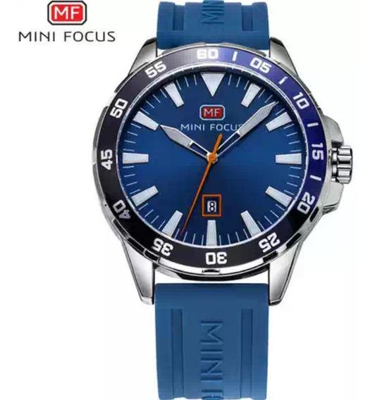 Relógio.masculino Mini Focos Pulsera De Silicone A P De Agua