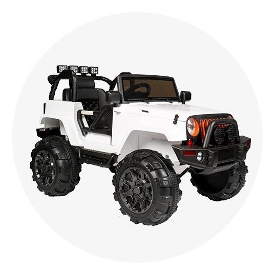 Auto A Bateria Jeep Kiddy 12v Musica Luz Mp3 Control