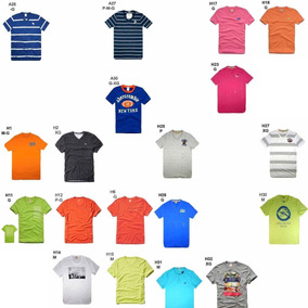 2x Camiseta Abercrombie Hollister Lançameto 2018 @34x