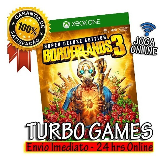 Borderlands 3 Deluxe Xbox One Midia Digital + Brinde