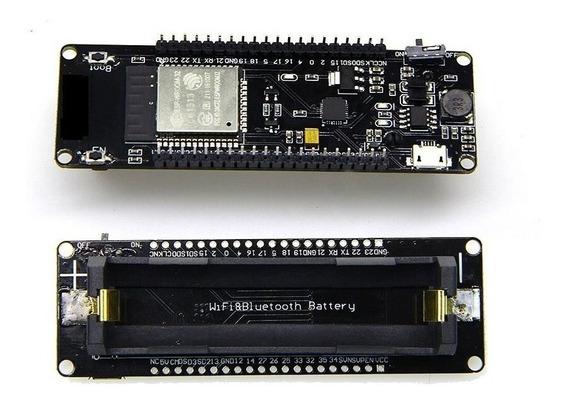 Esp32 D1 Suporte A Bateria Recarregável Wifi Ble Iot Wemos