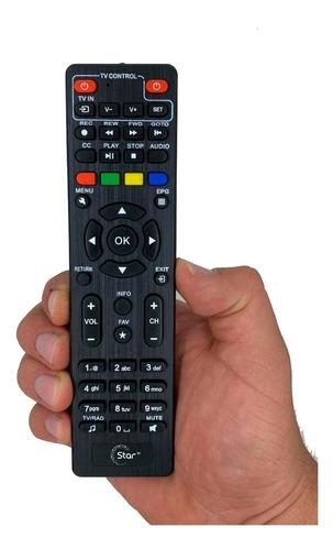 Imagen 1 de 1 de Control Remoto Star Tv Decodificador + Pilas Gratis