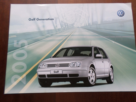 Folder Original Volkswagen Golf
