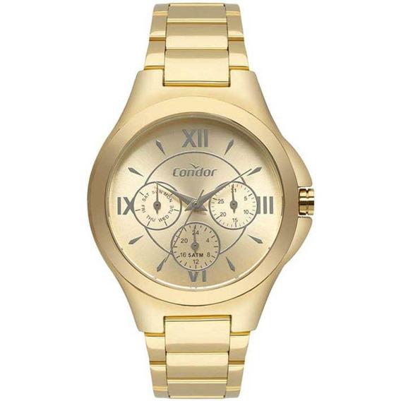 Relógio Condor Feminino Co6p29iu/4d Dourado - Promo C/ Nfe