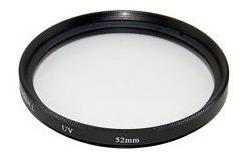 Filtro Green.l Uv 52mm Para Câmera Fotográfica Importado