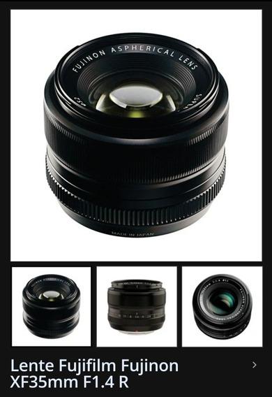 Lente Fujinon Xf 35mm F1.4 Fujifilm