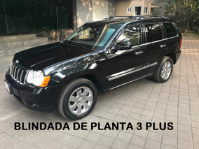 Grand Cherokee 4x4 V8 Blindada Nivel 3 Plus De Agencia 2010