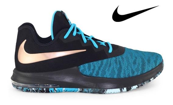 Tênis Nike Air Max Infuriate Iii Low Azul Tamanho 45 46 47 48
