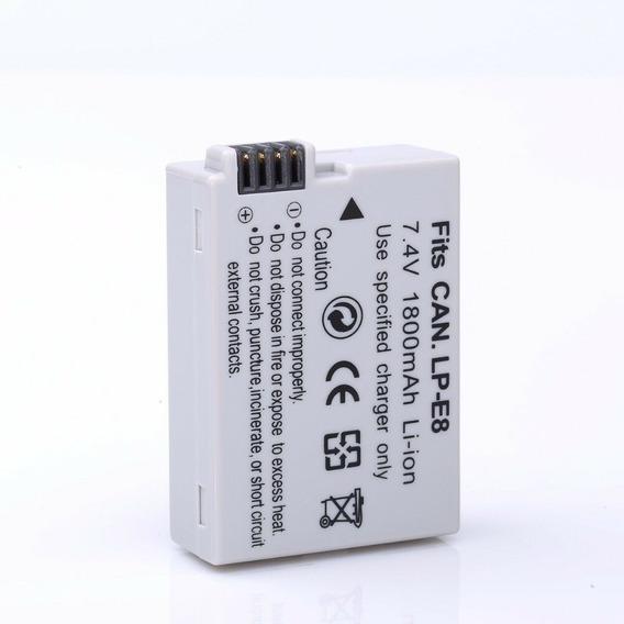 Bateria Lp-e8 Para T2i T3i T4i T5i 550d 600d 650d 700d