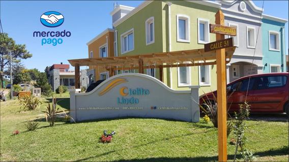 Casas Alquiler Con Pileta En Las Gaviotas Para 4, 5 Y 7 Pax