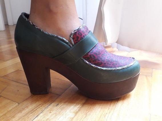 Zapatos Viamo. 2 Usos. Talle 38