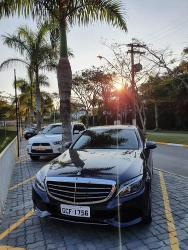 Imagem 1 de 6 de Mercedes-benz Classe C 2018 1.6 Exclusive Turbo Flex 4p