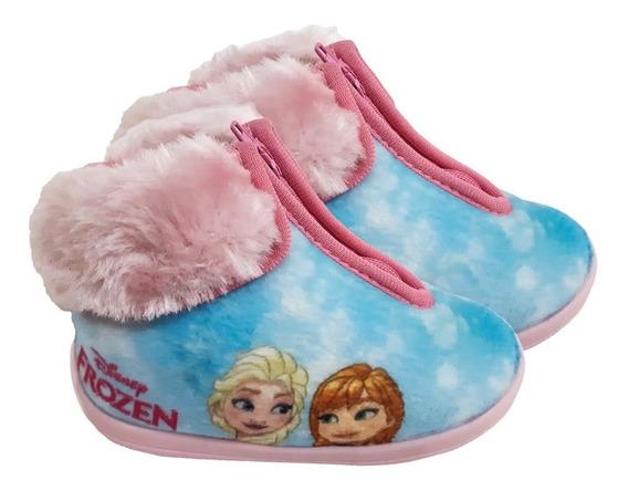 Bota Pantufa Infantil Frozen Ziper Ricsen - 2 Modelos