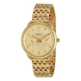 Relógio Fossil Dourado - Es3714/4bn